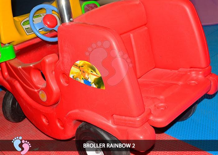 Xe chòi chân Broller Rainbow 2 11