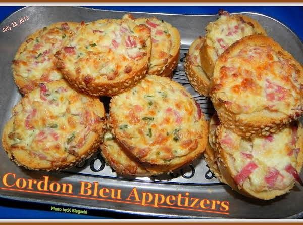 Cordon Bleu Appetizers Recipe