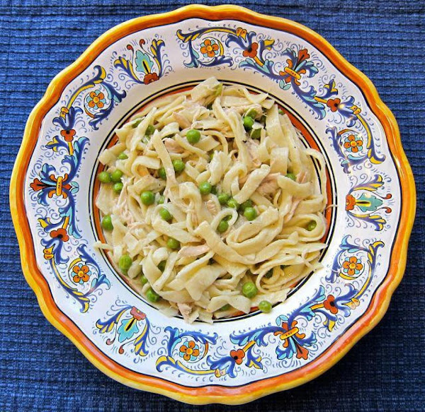 Creamy Chicken And Noodles Recipe
