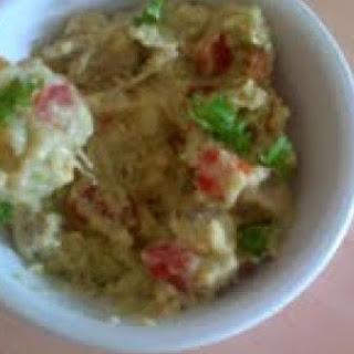 Homemade Guacamole Tortilla Chip Dip