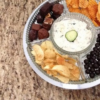Fast and Easy Chip Dip.