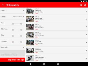 mototrader screenshot for Android