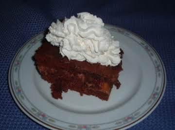 Chocolate Caramel Fudge Cake