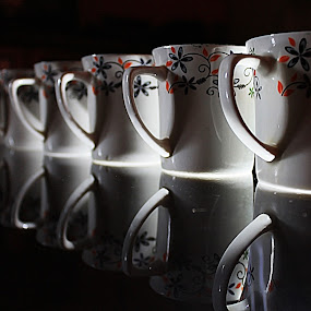 Cups by Amit Kumar - Artistic Objects Cups, Plates & Utensils ( cup, cups. reflection, reflection, artistic, mugs, pwccups )