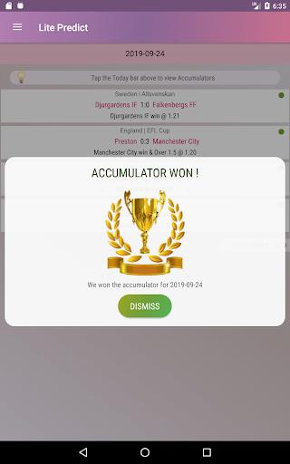 Lite Predict - Football Prediction Tips Version 4.1 Wing screenshots 9