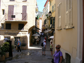 Photo: It's a typical maze of narrow streets, as here along the Rue du Poilu.