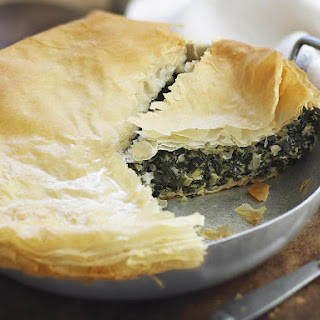 Chard and Feta Pie.