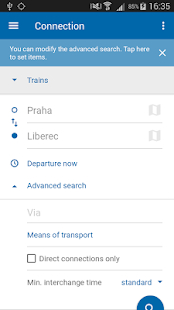 Czech Public Transport IDOS- screenshot thumbnail
