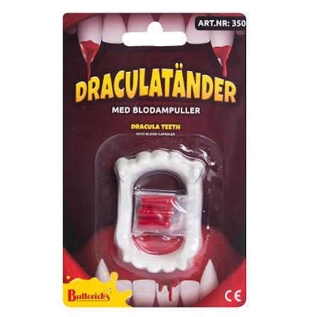 Draculatänder med blodampuller