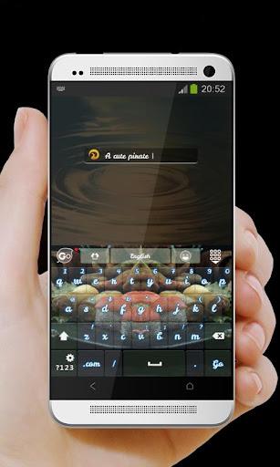 【免費個人化App】海盜午餐 GO Keyboard Theme-APP點子