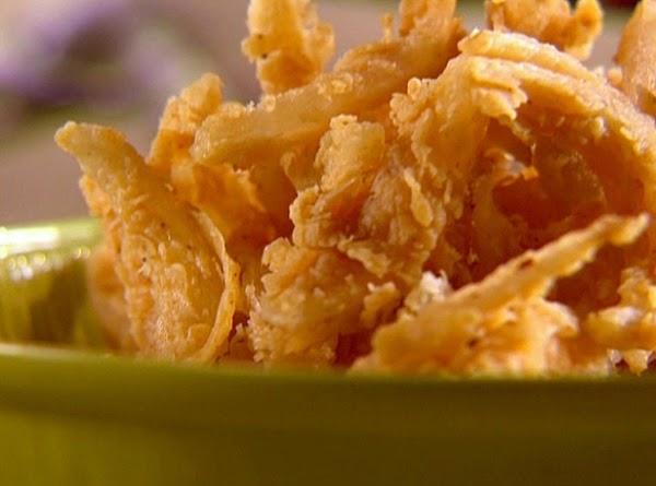 Lisa's Fried Onion Strips Recipe