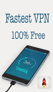 rocket Free Unlimited VPN - náhled