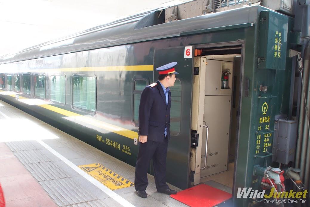 The Qinghai Tibet train