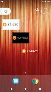 Simple Bitcoin Widget- screenshot thumbnail