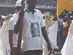 Photo: One of the members of Eyo Eletu Iwasee