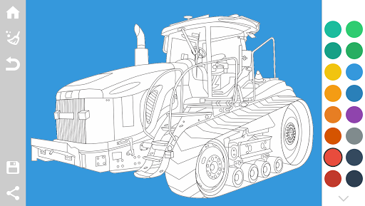 Tractors Coloring Pages Game 1.6 screenshots 5