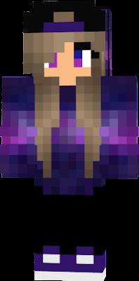 сКиН Маинкравт с фиолетовым цветом