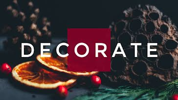 Elegant Holiday Decor - Christmas Template