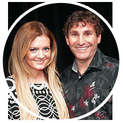 Emily Rosen and Marc David