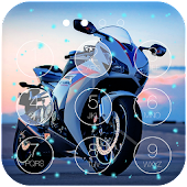 Motorbike Lock Screen Live WP