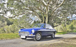 MG B GT Rent Queensland