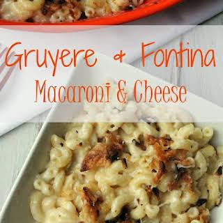 Gruyere and Fontina Macaroni and Cheese.