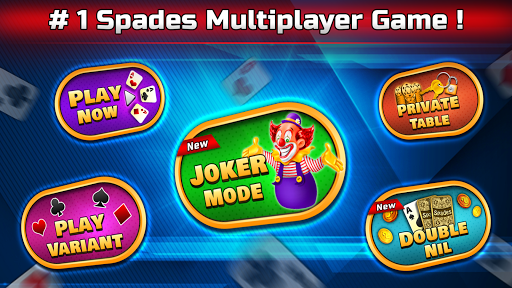 Spades Free - Multiplayer Online Card Game painmod.com screenshots 1