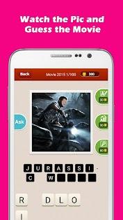 (APK) تحميل لالروبوت / PC Hi Guess the Movie: Film Quiz ألعاب screenshot