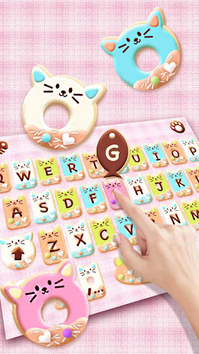 Colorful Donuts Button Keyboard Theme 1.0 screenshots 2