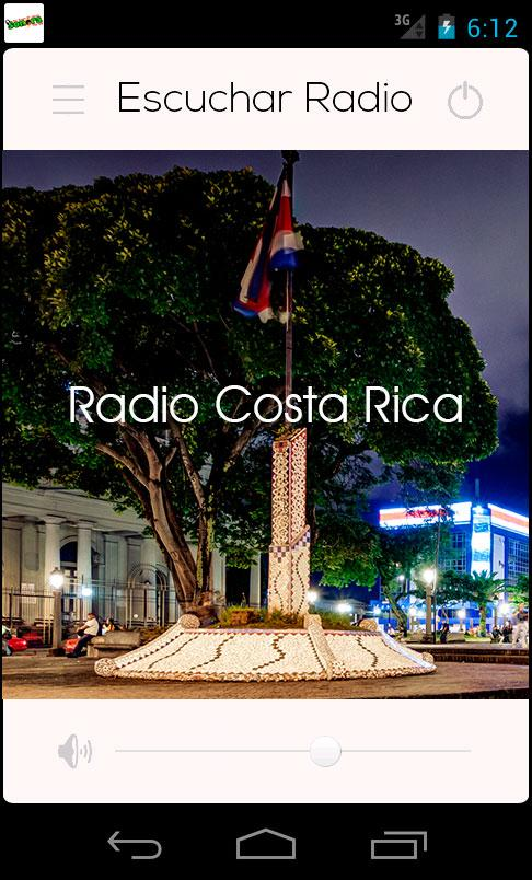 Radio Costa Rica- screenshot