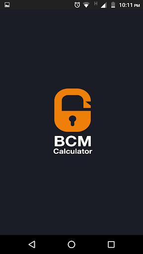 BCM Calculator  screenshots 1