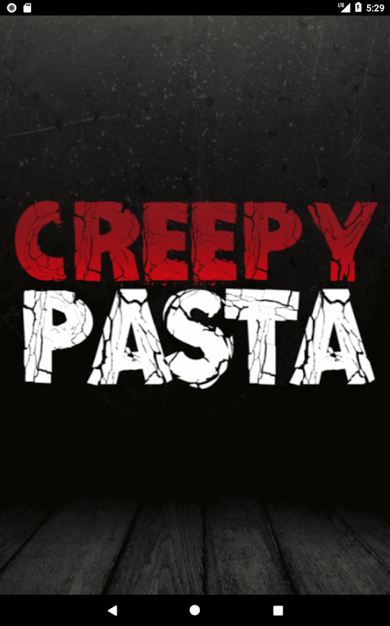 Creepypasta- screenshot