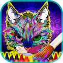 Coloring Mandalas Animals icon