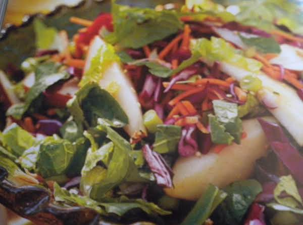 Pear Salad With Asian Dressing