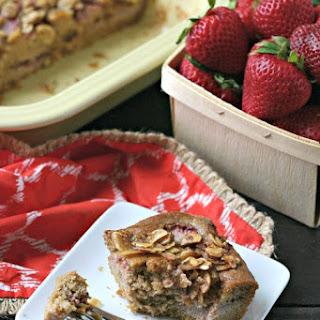 Strawberry Almond Coffee Cake