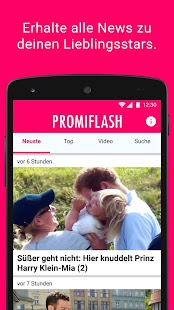 Promiflash- screenshot thumbnail