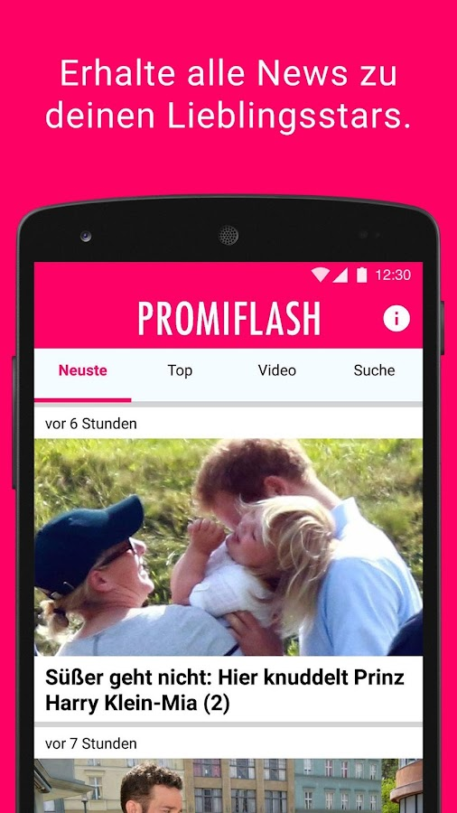 Promiflash- screenshot