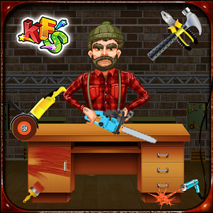 Office Table Factory: Furniture Builder Game Sim for PC