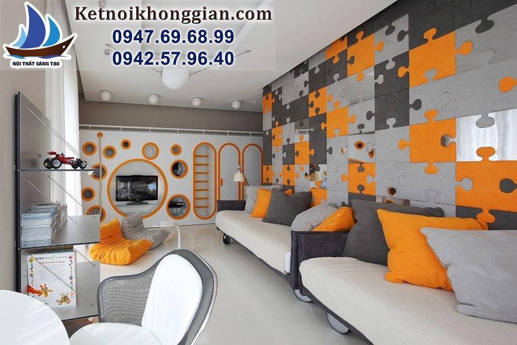 thiết kế phòng ngủ bé trai muốn thành nghệ sỹ
