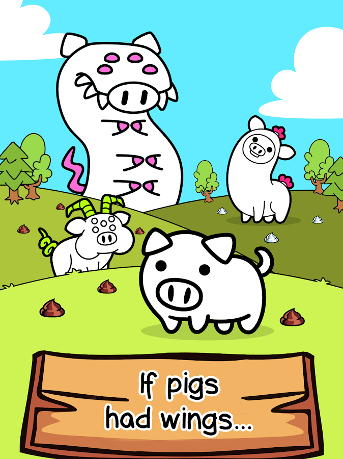 Screenshots of Pig Evolution - Clicker Game for iPhone