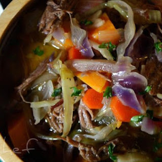 Wintery Vegetable Beef Soup