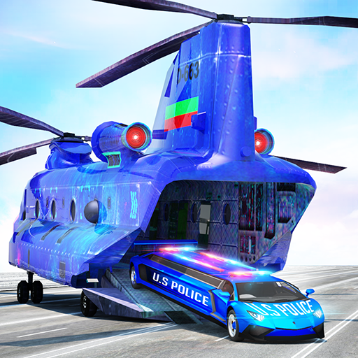 US Police Limo Transport, Aeroplane transport Game