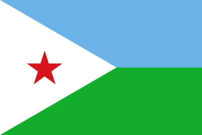 Bandeira Djibuti