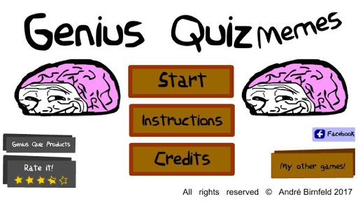 Genius Quiz Memes 1.0.1 screenshots 1