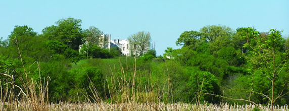 Photo: The Pre-Civil War Belmead Mansion seen here from the fields near the James River was recently repaired. It is the SBS center for activities at SFSE, Inc.