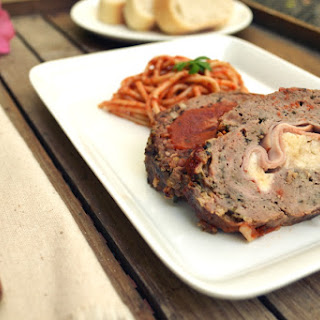 Stuffed Italian Meatloaf