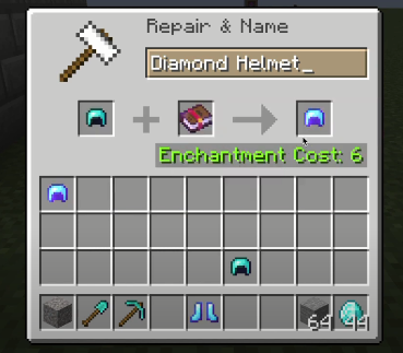 Enchantment in Minecraft: Respiration