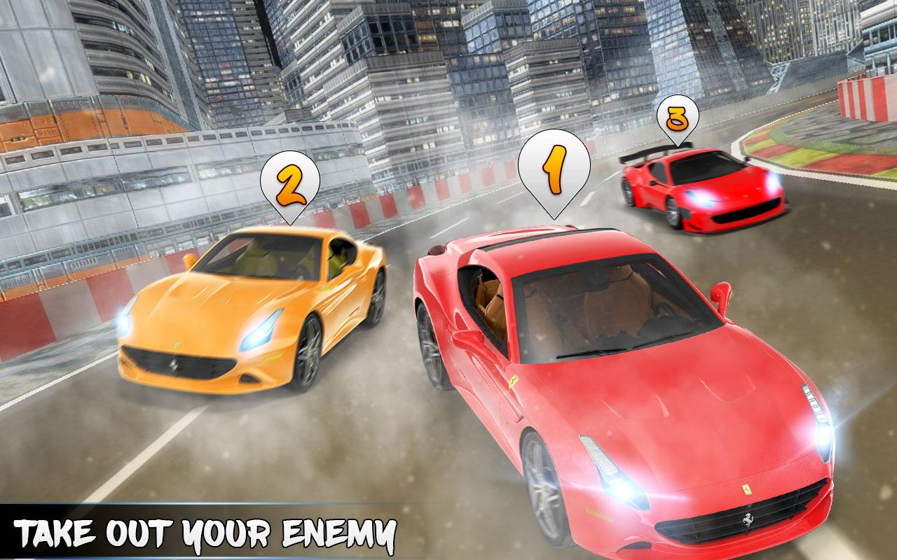 Fast Car Drive Car Racing Game- screenshot