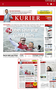 KURIER- screenshot thumbnail