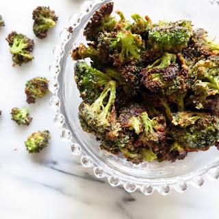 Wasabi Broccoli Chips